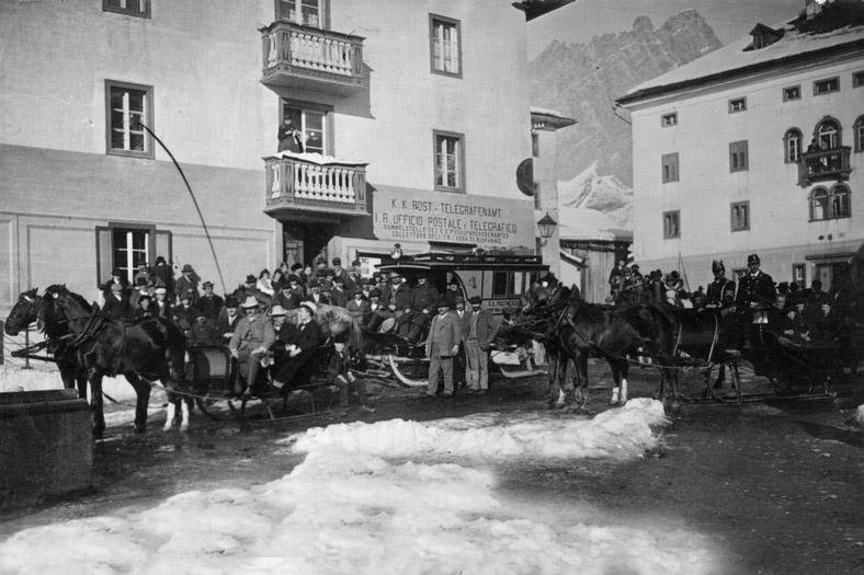 Cortina d'Ampezzo - inizi '900