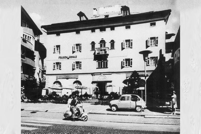 L' Hotel Royal negli anni '50